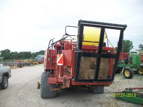 Used Hesston 4790 hay equipment parts. Rear photo EQ-20687