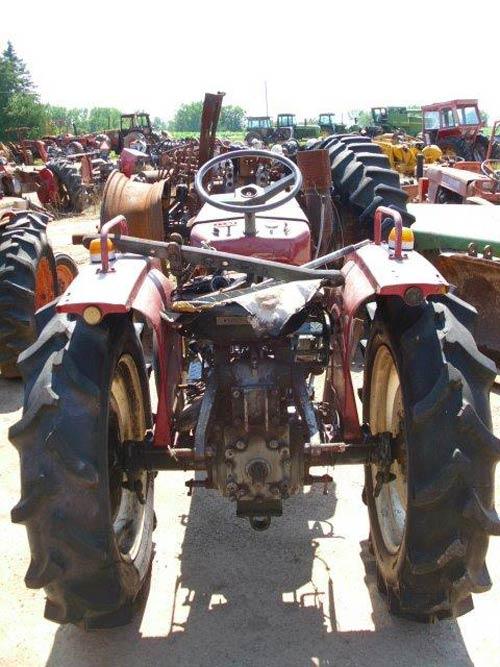 Yanmar Salvage Tractor Parts : Salvaged yanmar ym tractor for used parts eq