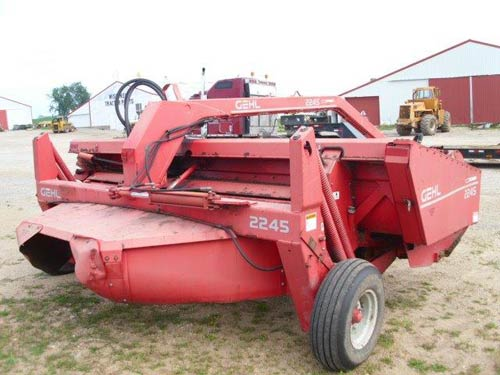 Used Gehl 2245 hay equipment parts. Front photo EQ-20820