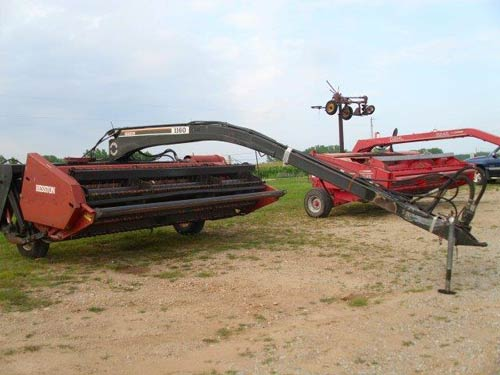 Used Hesston 1160 hay equipment parts - side photo EQ-20830