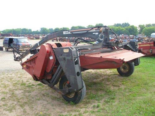 Used Hesston 1160 hay equipment parts. Rear photo EQ-20830