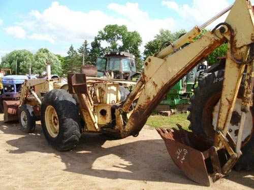 Ford 3500 Tractor : Ford industrial tractor specs