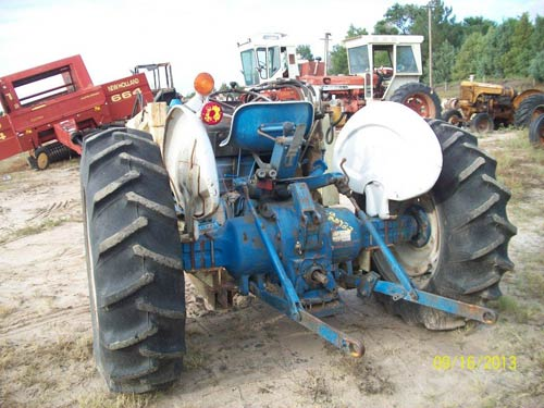 Ford 4000 Backhoe Parts : Used ford tractor parts