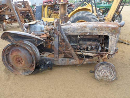 Ford Jubilee Parts : Used ford jubilee tractor parts