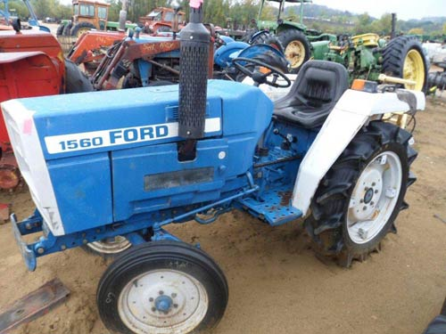 Ford 1560 tractor salvaged for used parts. This unit is available at All States Ag Parts in Downing, WI. Call 877-530-1010 parts. Unit ID#: EQ-21059. The photo depicts the equipment in the condition it arrived at our salvage yard. Parts shown may or may not still be available. http://www.TractorPartsASAP.com