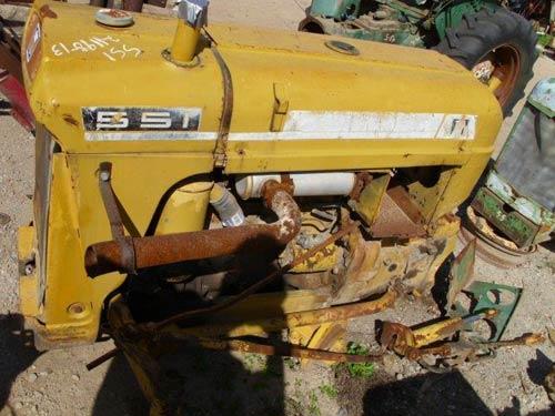 Oliver 550 Parts : Oliver tractor engine parts