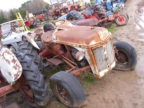 salvaged ford 8n tractor for used parts eq 21217 all. Cars Review. Best American Auto & Cars Review