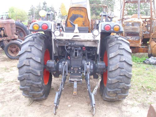Used Bobcat CT450 tractor parts. Front photo EQ-21350