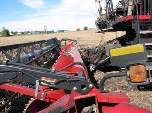 Used Case IH 3020 header parts - side photo EQ-21633