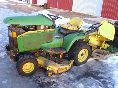 John Deere 425 Tractor Parts : John deere loader car interior design