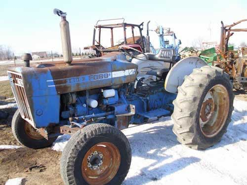 Ford 3600 Diesel : Used ford tractor parts