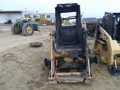 Used Case 435 skid steer loader parts. Front photo EQ-21933