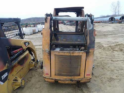 Used Case 435 skid steer loader parts. Rear photo EQ-21933