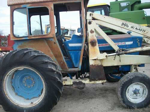 Ford 5000 Diesel Tractor Parts : Used ford tractor parts