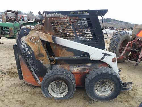 Used Scat Trak 1700C skid steer parts - side photo EQ-21973