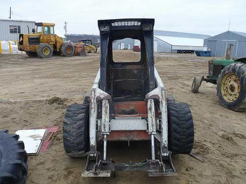 Used Scat Trak 1700C skid steer parts - front photo EQ-21973