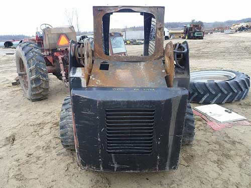 Used Scat Trak 1700C skid steer parts - rear photo EQ-21973