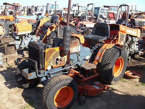 Kubota Tractor Salvage : Kubota b parts bing images