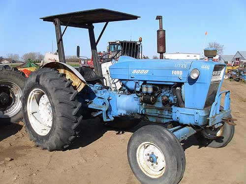 Used Tractor Parts : Ford tractor salvage parts