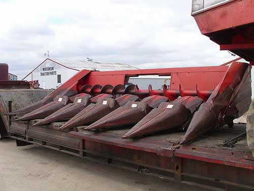 White 706W header salvaged for used parts. This unit is available at All States Ag Parts in Black Creek, WI. Call 877-530-2010 parts. Unit ID#: EQ-22192. The photo depicts the equipment in the condition it arrived at our salvage yard. Parts shown may or may not still be available. http://www.TractorPartsASAP.com