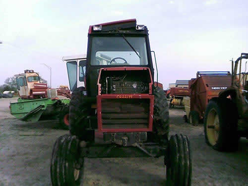 Case 2096 tractor salvaged for used parts. This unit is available at All States Ag Parts in Bridgeport, NE. Call 877-530-5010 parts. Unit ID#: EQ-22199. The photo depicts the equipment in the condition it arrived at our salvage yard. Parts shown may or may not still be available. http://www.TractorPartsASAP.com