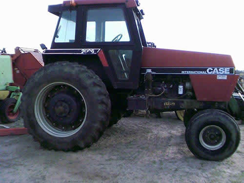 Used Case 2096 tractor parts - front photo EQ-22199