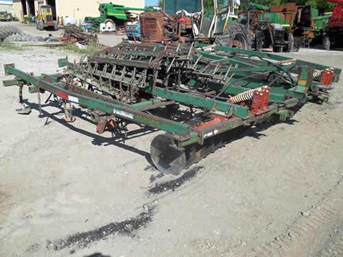 Used GlenCoe 20 tillage parts - side photo EQ-22215