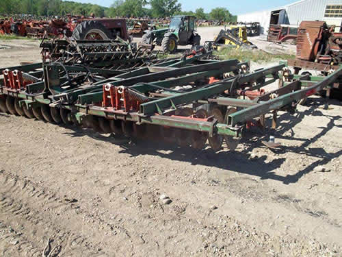 Used GlenCoe 20 tillage parts - front photo EQ-22215