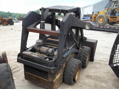 Used New Holland L454 skid steer parts - front photo EQ-22287
