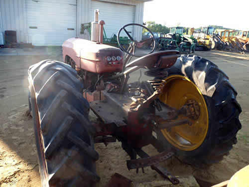 Used Massey Ferguson 33 tractor parts. Rear photo EQ-22400