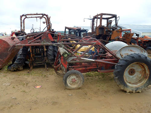 salvaged ford 8n tractor for used parts eq 22424 all. Cars Review. Best American Auto & Cars Review