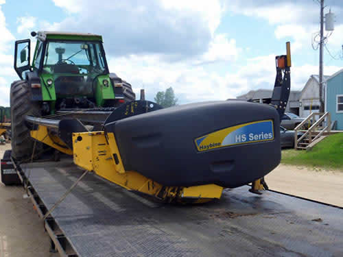 New Holland HS14 hay equipment salvaged for used parts. This unit is available at All States Ag Parts in Downing, WI. Call 877-530-1010 parts. Unit ID#: EQ-22505. The photo depicts the equipment in the condition it arrived at our salvage yard. Parts shown may or may not still be available. http://www.TractorPartsASAP.com
