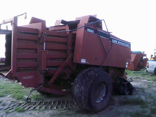 Used Case IH 8580 hay equipment parts. Front photo EQ-22510