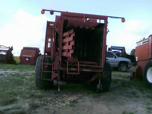Used Case IH 8580 hay equipment parts - rear photo EQ-22510