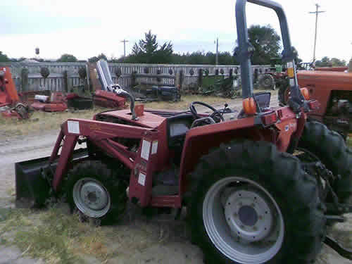 Used Tractor Parts Salvage Yards : Salvaged massey ferguson tractor for used parts eq