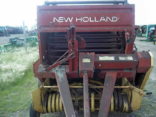 Used New Holland 845 hay equipment parts - side photo EQ-22907