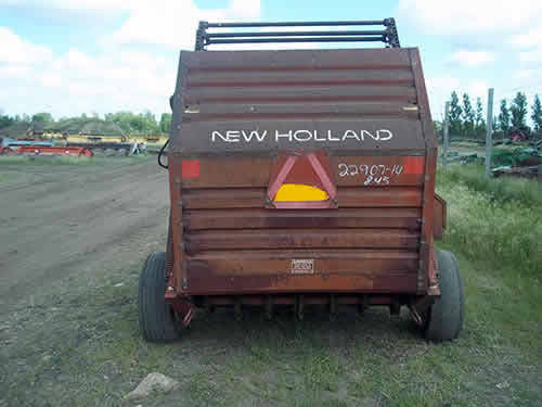 Used New Holland 845 hay equipment parts - rear photo EQ-22907
