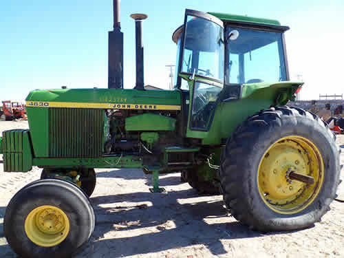 John Deere Tractor Salvage Yards : Salvaged john deere tractor for used parts eq