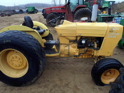 Used Tractor Parts Salvage Yards : Ford d industrial salvaged for used parts this unit is