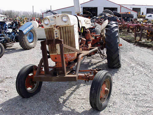 Used Case Backhoe Parts : Salvaged j i case tractor for used parts eq