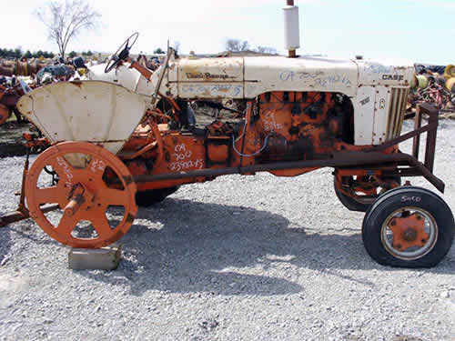 Used Case Backhoe Parts Case : Salvaged j i case tractor for used parts eq