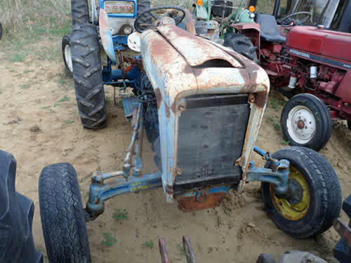 Ford 4000 Backhoe Parts : Used ford tractor parts front photo eq
