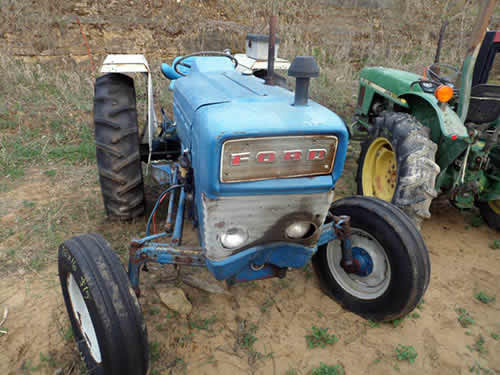 All Tractor Parts : Salvaged ford tractor for used parts eq all