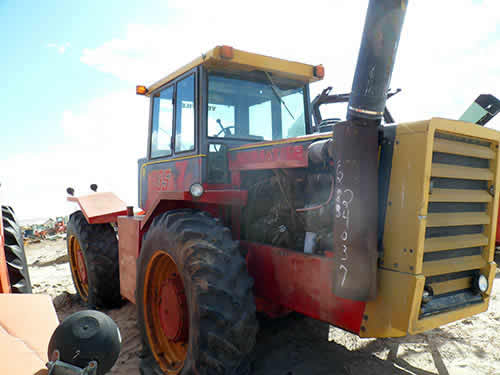 Versatile Tractor Parts : Versatile tractor salvaged for used parts this unit