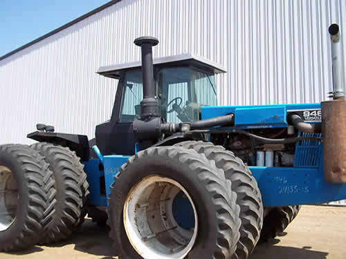 Versatile Tractor Parts : Salvaged versatile tractor for used parts eq