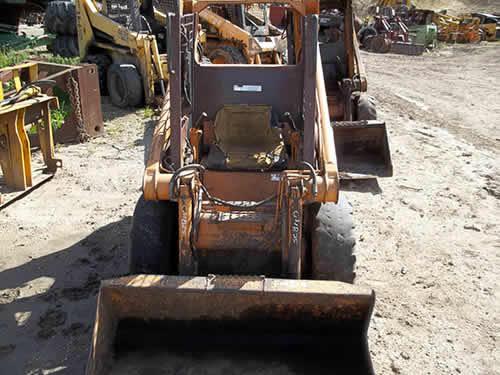 Case Skidder Parts : Salvaged case skid steer loader for used parts eq