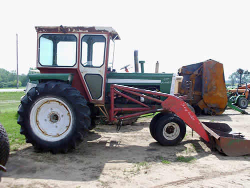 Used Tractor Parts Salvage Yards : Salvaged oliver tractor for used parts eq