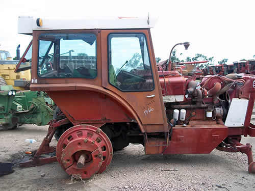 International Tractor Salvage Yard : Salvaged international tractor for used parts eq