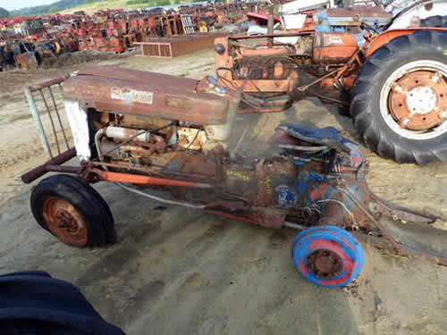 Ford Backhoe Salvage Parts : Salvaged ford tractor for used parts eq all