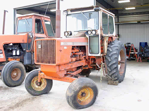 Used Tractor Parts Salvage Yards : Salvaged allis chalmers tractor for used parts eq